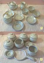 Посуда сервиз тарелки чашки времен СССр