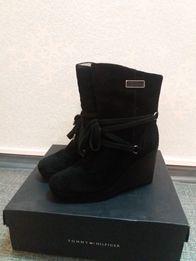 Женские ботинки TOMMY HILFINGER евро зима, натуральный замш
