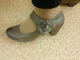 Туфли кожаные Tamaris 26см.