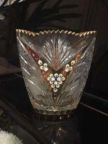 Продам хрустальную вазу Богемия