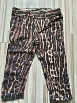 Ralph Lauren spodnie, rurki panterka