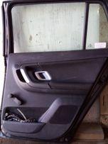 Двері задні праві Skoda Fabia 2007-2012 рік