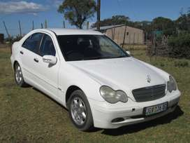 Mercedes benz C180 white colour