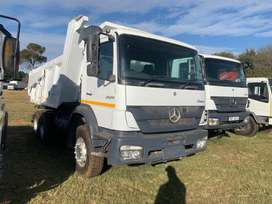 2012 Mercedes Benz 2628 Double Diff 10 cube Tipper