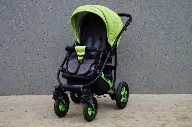 Piękny wózek CAMARELO SEVILLA 3w1 - piękna zieleń ! Wysyłka ! Elbląg - image 4