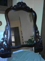PIĘKNE DUŻE lustro w drewnianej ramie OKAZJA!!!