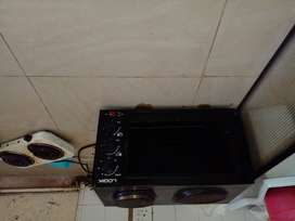 2 plate oven