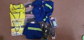 PPE - Overalls and Reflective Vests (New)