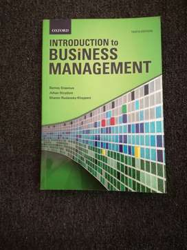 Introduction toBusiness management 10th edition