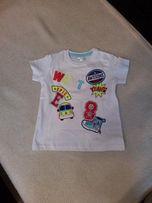 bluzka chłopięca t-shirt 80