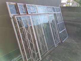 Steel windows and frames