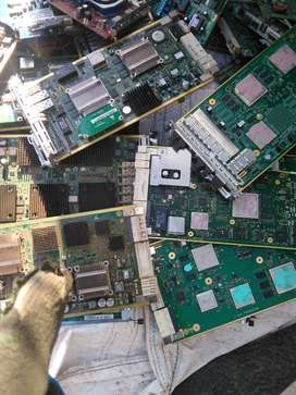 We buy all broken scrapped electronics components