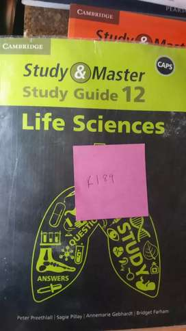 Study and master grade 12 life science