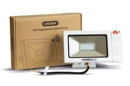 ЛУЧШИЙ! LED прожектор VIDEX Slim Sensor 10W датчик ЛЕД светодиодный