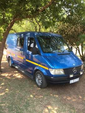1996 Mercedes Sprinter fitted with newly restored uprated V6 engine.