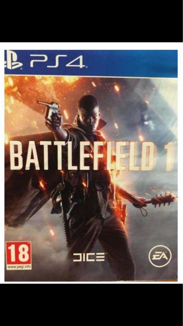 PS4 Battlefield 1. Brand new. Sealed 0