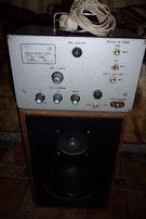 Усилитель низкой частоты УНЧ-10 с динамиком.