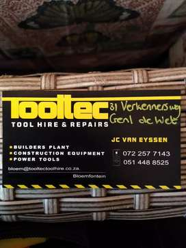 Tooltec Toolhire and Services