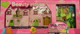 Dream Double Story mobile House with Family & Furniture (New)