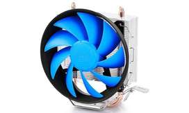 Silent DeepCool CPU Heatsink and fan with paste.