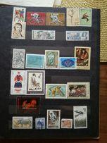 Kolekcja znaczków znaczki