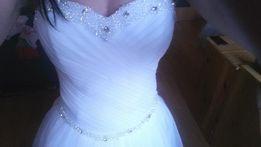 Suknia Ślubna Princessa Swarovski