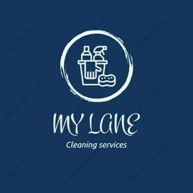 Cleaning services--roof & grass cutting