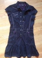 Платье Классик Reserved котон XS-S /13-14 лет 75 грн