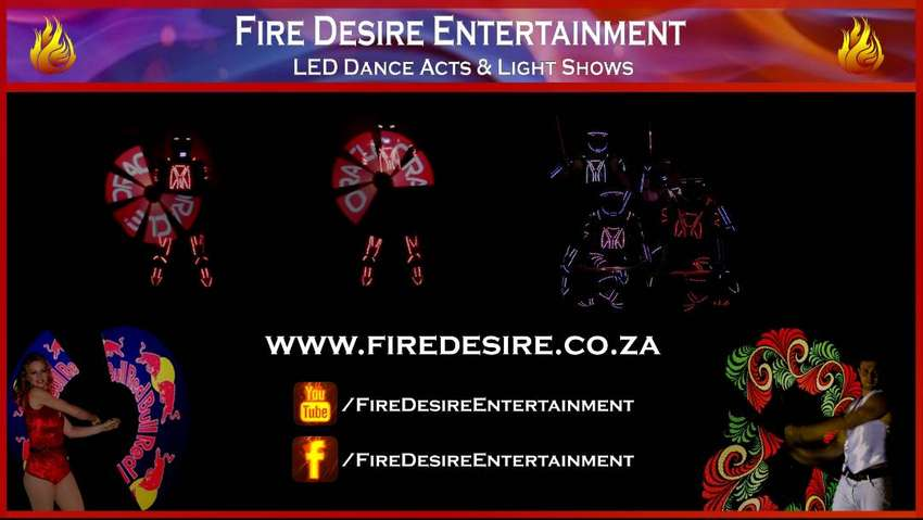 LED Dance Acts and Light Shows by Fire Desire Entertainment 0