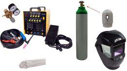 TIG THF 230 II AC DC puls spawarka inwertor mma zestaw nowy wysyłka