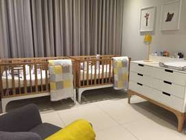 Baby cot and conversion kit