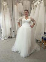 Платье свадебное 54 56 58 размера