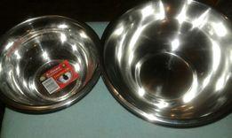 Миски для собак котов нержавеющая сталь диаметром от 14 - 31см.