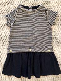 Przepiękna NOWA letnia sukienka Petit Bateau 6m 68 cm