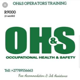 OH&S OPERATORS TRAINING IN PHOKENG