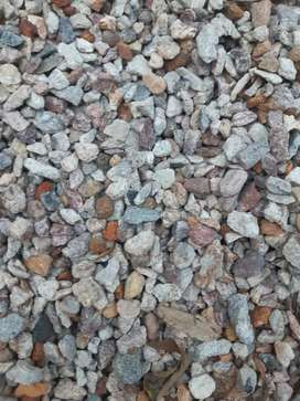 Multicolored Crushed Stone