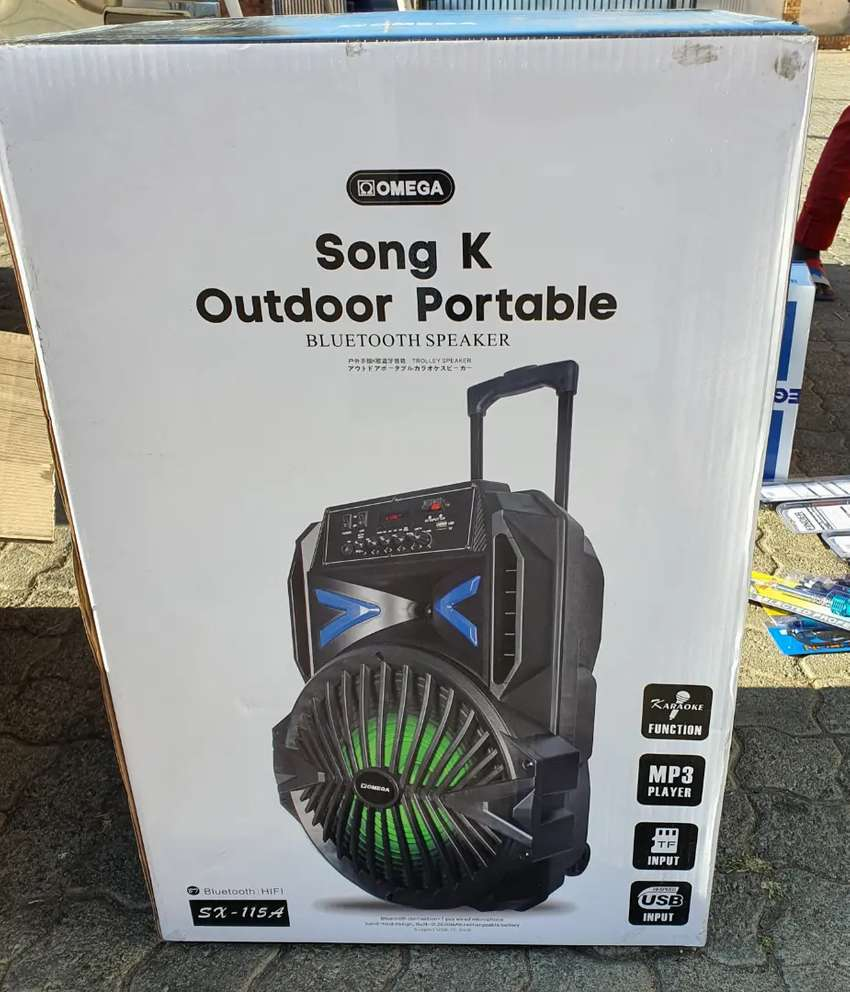 Omega Portable PA system Rechargeable