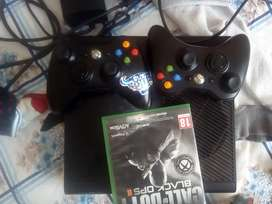 Xbox 360 and a called call of duty black ops