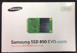 Samsung SSD msata 850 EVO 120GB MZ-M5E120BW SATA III 520-540 MB/sec