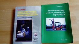 Książki na kurs spawalniczy i wózek widłowy