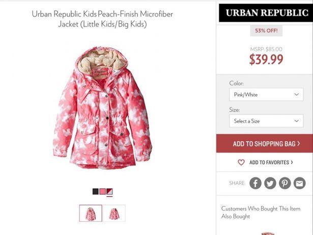Демисезонная курточка , куртка размер 3т ! новая с Америки ! Киев - изображение 1
