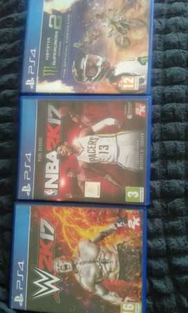 4PS4 games for sale