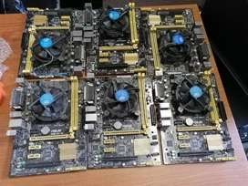 ASUS H81M-C Motherboard,intel socket 1150 for 4th generations with cel