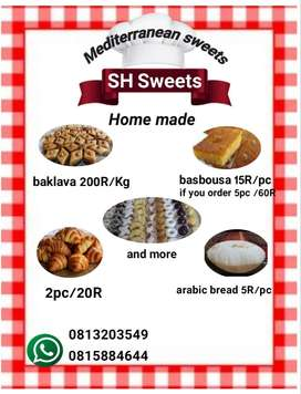 Sweets for all occasions