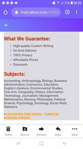 ASSIGNMENTS AND PORTFOLIO SOLUTIONS (ALL DEGREE PROGRAMS)