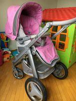 Детская универсальная коляска Bebecar Ip-Op AT 2 в 1