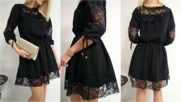 Sukienka hiszpanka - koronka