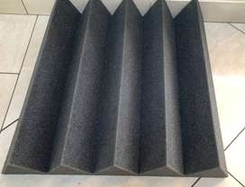 Acoustic Foam Triangle Wedge Shape (100mm Thick)
