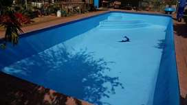 Swimming pools constructions