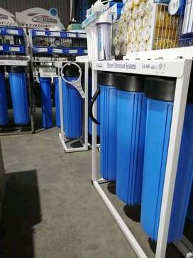 WATER FILTRATION SYSTEM AND PUMPS.